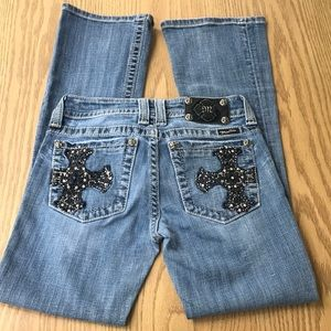 Miss Me Jeans Cross & Bling Jeans AS IS
